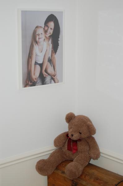 porträtt, hemma hos