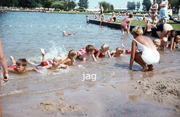 simskola Gustavsvik 60-tal