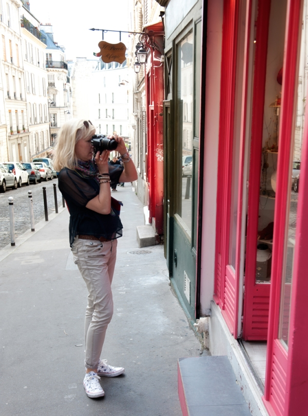 fotokurs i Paris med Bergman Hughes Images