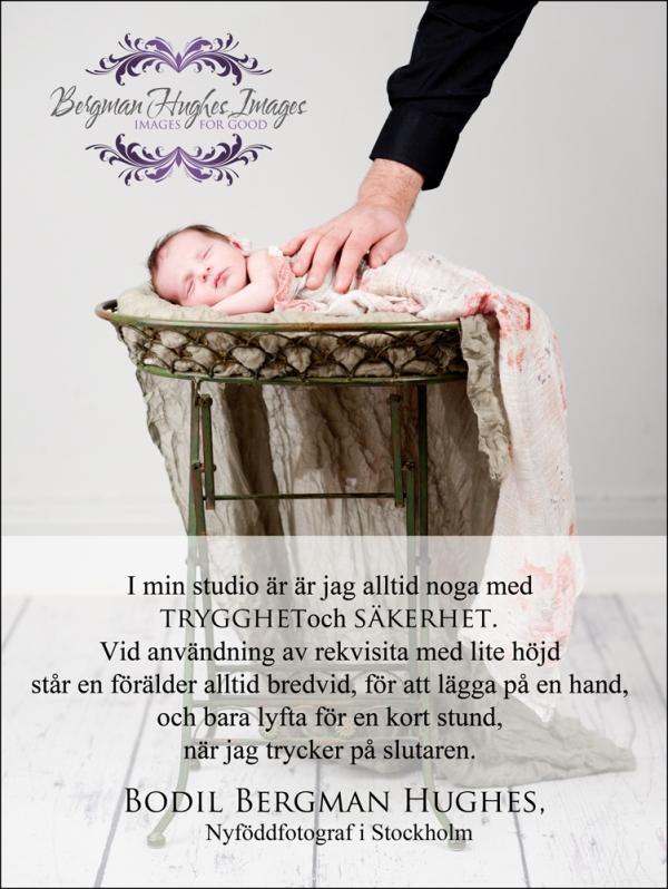 Säkerhet vid nyföddfoto