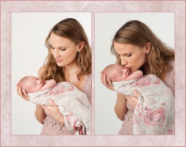 Minna och Neea. Nyföddfotograf Bodil Bergman Hughes