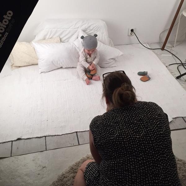 Bergman Hughes Images, fotografering för Baby von E